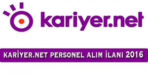 Kariyer.net Personel Alım İlanı 2016