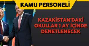 Kazakistan'daki FETÖ Okulları 1 Ay İçinde Denetlenmeye Başlıyor