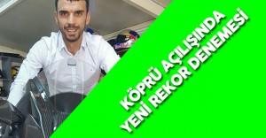 Kenan Sofuoğlu Osman Gazi Köprüsü'nün Açılışında Rekor Denemesi Yapacak