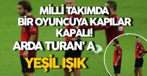 Kesik Yiyen Bir Futbolcuya Milli Takım Kapısı Kapalı, Arda Turan' a Yeşil Işık!