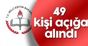 Kırklareli Milli Eğitim Müdürlüğünde 49 Kişi Açığa Alındı