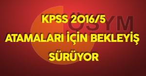 KPSS 2016/5  Tercih Sonuçları Bekleniyor