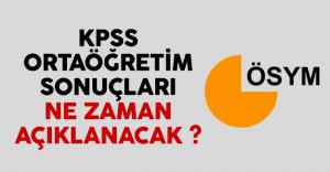 KPSS ortaöğretim (lise) sonuçları ne zaman açıklanacak gözler ÖSYM'de