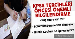 KPSS Sonuçları Açıklandı - KPSS 2016/2 Tercihleri Öncesinde Rehberlik ve Bilgilendirme