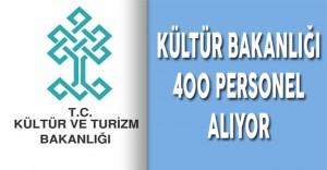 Kültür Bakanlığı 400 Personel Alıyor