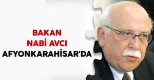 Kültür ve Turizm Bakanı Nabi Avcı Afyonkarahisar'da