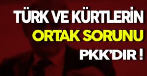 Kürt ve Türklerin PKK Gibi Bir Sorunu Var
