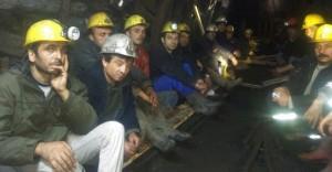 Maaşlarını Alamayan Maden İşçileri 9 Gündür Açlık Grevinde