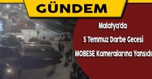Malatya'da 15 Temmuz Darbe Girişimi MOBESE Kameralarına Yansıdı