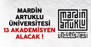 Mardin Artuklu Üniversitesi 13 akademisyen alımı yapacak