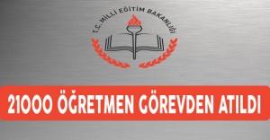MEB 21 bin öğretmenin lisansını iptal etti