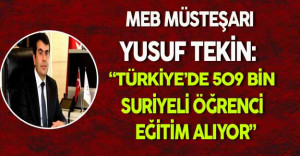 Türkiye'de 509 bin Suriyeli Öğrenci Eğitim Alıyor