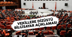Meclis'ten Milletvekillerine Dizüstü Bilgisayar Açıklaması