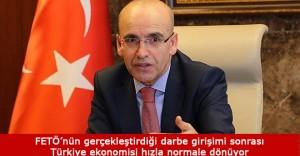 """Mehmet Şimşek: """"Kaygıya gerek yok"""""""