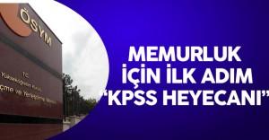 Memurluk için İlk Adım olan KPSS için Geri Sayım Sürüyor