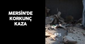 Mersin'de Kamyon Devrildi : 2 Kişi Öldü