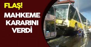 Metrobüs Kazasına Sebebiyet Veren Şemsiyeli Saldırgan Hakkında Karar Verildi!