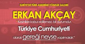 """MHP Grup Başkanvekili Akçay:"""" Türkiye Cumhuriyeti Olarak Gereği Neyse Yapılmalıdır"""""""