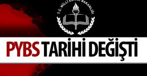 Milli Eğitim Bakanlığı PYBS Duyurusu Yaptı Sınav Tarihi Değişti