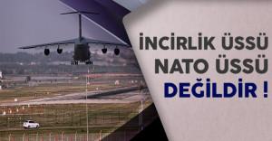 Milli Savunma Bakanı Işık İncirlik Üssü'nün NATO'ya Bağlı Olmadığını Açıkladı