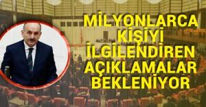 Milyonlarca İşçi, Memur , Emekli ve  Taşeron'un Gözü Mecliste Olacak