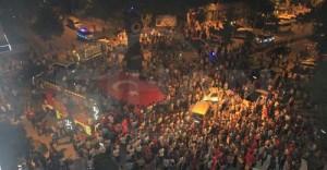 Muş'ta Demokrasi Nöbeti Devam Ediyor