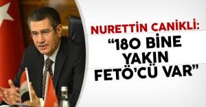 Nurettin Canikli: '180 Bine Yakın FETÖ'cü Var'
