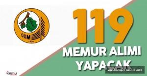 Orman Genel Müdürlüğü 119 Memur Alımı Başvuruları Ne Zaman Başlayacak ?
