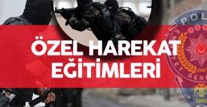 Özel Harekat Polisleri 15 Hafta Temel Eğitim Alıyor