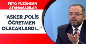 """Prof. Dr. Erhan Afyoncu : """" Asker, Polis , Öğretmen Olabilecekken Atanamadılar"""""""