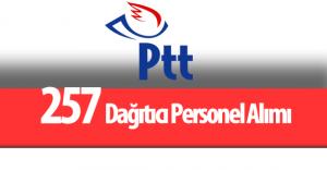 PTT 257 Dağıtıcı Personel Alımı Yapacak
