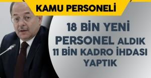 """Sağlık Bakanı : """" 18 Bin Personel Alımı Yaptık, 11 Bin Kadro İhdası Yaptık"""""""