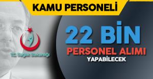 Sağlık Bakanlığı'na 22 Bin Personel Alımını Öngören Teklif Kabul Edildi