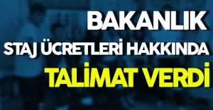Sağlık Bakanlığı Staj Ücretleri Hakkında Mağduriyetler Giderilsin Talimatı Verdi