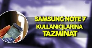 Samsung Note 7 Kullanıcıları Tazminat Alacak