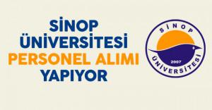 Sinop Üniversitesi Personel Alımı Yapıyor
