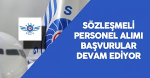 Sivil Havacılık Genel Müdürlüğü Sözleşmeli Personel Alımı Başvurular Sürüyor
