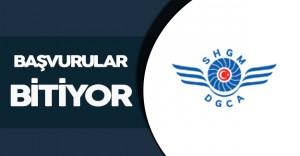 Sivil Havacılık Genel Müdürlüğü Sözleşmeli Personel İlanına Başvurular Sonlanıyor