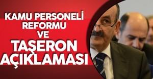 Son Dakika: Bakan'dan Kamu Personeli Reformu ve Taşeron Kadro Açıklaması