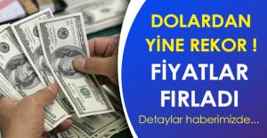 Son Dakika: Dolar Fiyatı Yine Rekor Kırdı, Yürekleri Ağıza Getirdi!