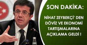 Son Dakika: Ekonomi Bakanından Dolar ve Yaşanan Hareketliliğe İlişkin Açıklama!