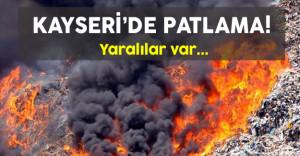 Kayseride Patlama Son Dakika : Şehit ve Yaralılar Var