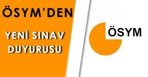 Son Dakika: ÖSYM' den Yeni Sınav Duyurusu!