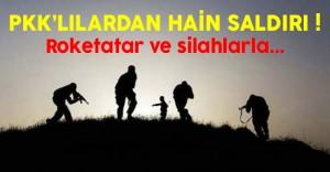 Son Dakika: PKK'lılardan Bingöl'de Karakola Roketatarlı Saldırı
