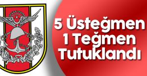 Son Dakika: Sivas'ta 5 Üsteğmen ve 1 Teğmen Tutuklandı