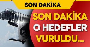 Son Dakika: Suriye'deki O Hedefler Vuruldu!