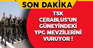Son Dakika: TSK YPG'yi vuruyor !