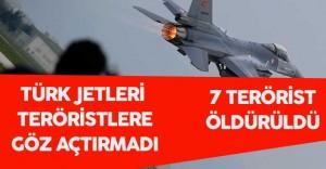 Türk Jetleri Bölücü Hainlere Göz Açtırmadı