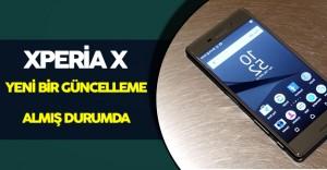 Sony Xperia X Yeni Bir Güncelleme Aldı