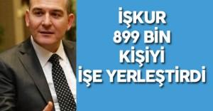 """Süleyman Soylu : """" İŞKUR, Sadece Geçen Sene 899 bin Kişiyi İşe Yerleştirdi"""""""